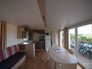 Mobil-home 6-8 personnes terrasse ouverte