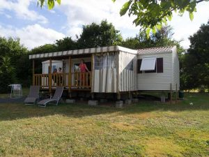 Mobil-home 6-8 personnes terrasse couverte