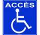Acces handicapes